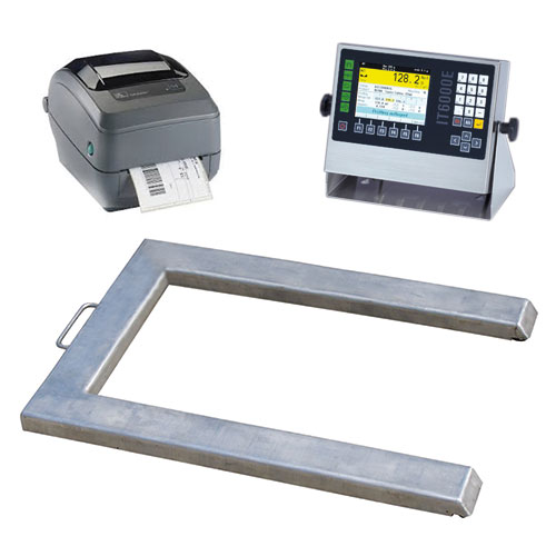 Zählsystem mit Palettenwaage und IT 6000 E