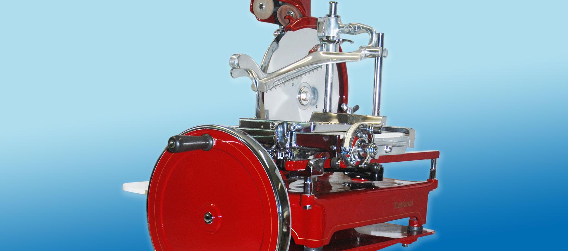Prosciutto Schwungrad-Schneidemaschine Nostalgie