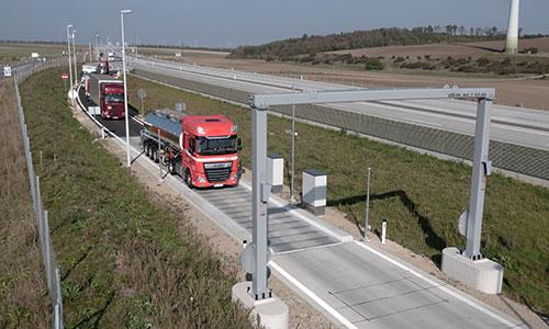 Strassenfahrzeugwaage HHB01